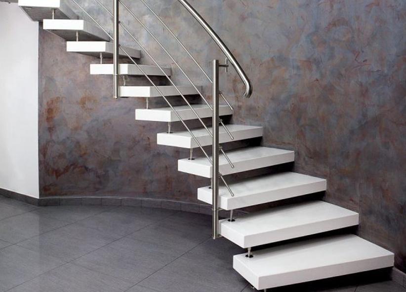 Scale ellittiche in pietra marmo legno per interni ed for Fargione scale