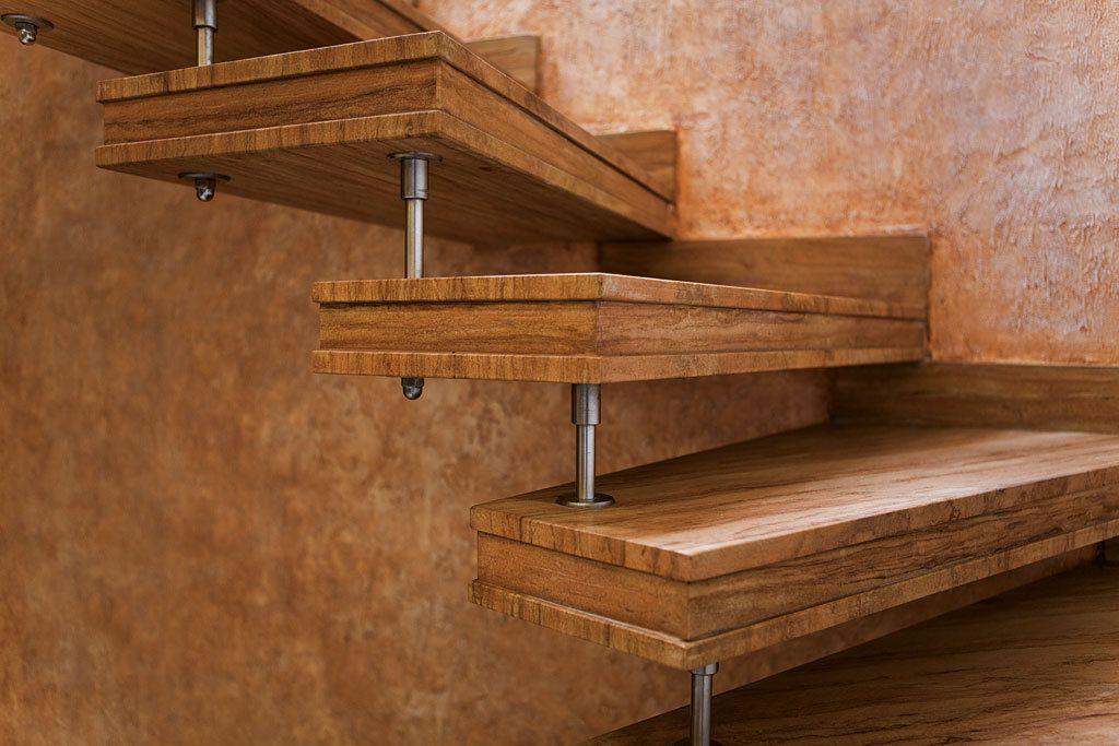 Scale ellittiche in pietra marmo legno per interni ed - Scale prefabbricate in legno ...