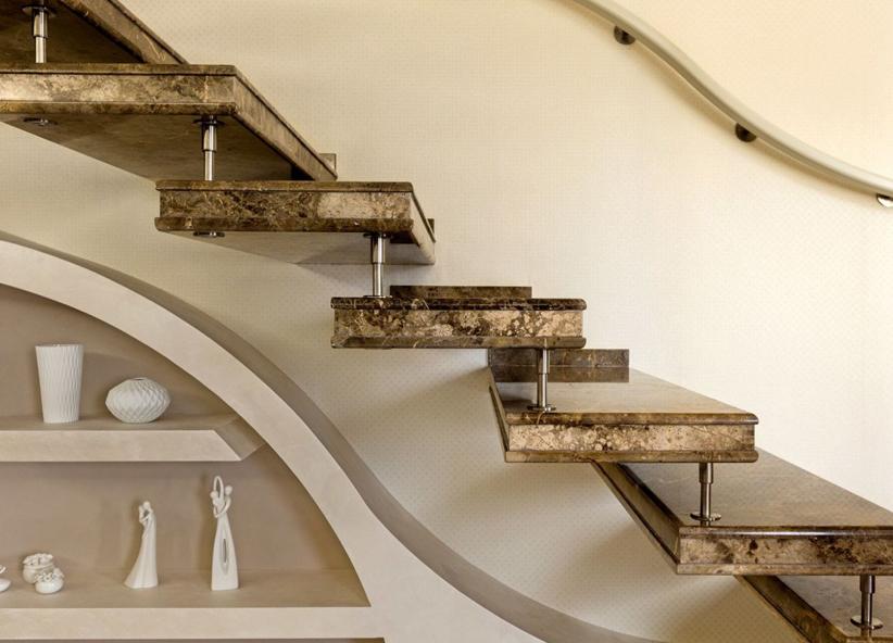 Scale Moderne In Pietra.Scale In Granito Per Interni